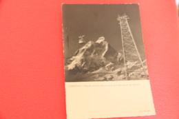 Aosta Breuil Cervinia La Funivia 1942 Ed. Mariani - Otras Ciudades