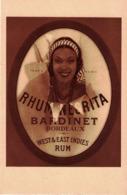 CP RHUM NEGRITA BARDINET - Publicité