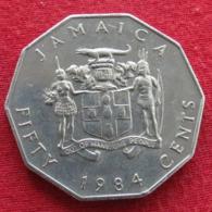Jamaica 50 Cents 1984 KM# 65 Jamaique Jamaika - Jamaica