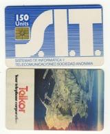 ARGENTINA___Telkor Test___S.I.T. 150u Testcard - Argentine
