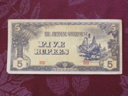 1945 - Japanese Note Taken From Gaulintier Of Strasbourg By Bill Jary (Fort Worth) Who Occupied Same House - Japan