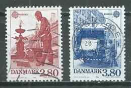Danemark YT N°881/882 Europa 1986 Protection De La Nature Oblitéré ° - 1986