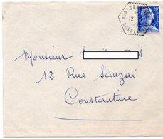 LSC 1958 - Cachet Hexagonal Perlé - AIN BABOUCHE - CONSTANTINE - Algerien (1924-1962)