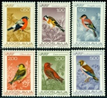 Yugoslavia 1968 Birds,Vögel,Oiseaux,Aves,Finches,Songbirds,Mi.1274-9,MNH - Sperlingsvögel & Singvögel