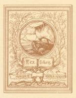 Ex Libris Anna Maria Mauro - M.A. Falorsi - Ex Libris