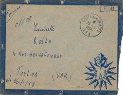 LSC 1958 - Cachet  POSTE AUX ARMEES  - A.F.N. - Marcophilie (Lettres)