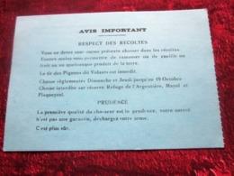LA FRATERNELLE 84 VIENS- GIGNAC VAUCLUSE ASSOCIATION COMMUNALE DE CHASSE-CARTE ADHÉRENT 1986 / 87-GIBIER -FAISAN-BÉCASSE - Organisations