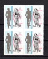 ITALIA :   FAUSTO  COPPI - 1 Val. 1,10  €. In QUARTINA   MNH**  15.09.2019 - 6. 1946-.. Republik