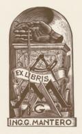 Ex Libris G. Mantero - Bruno Colorio - Ex-libris