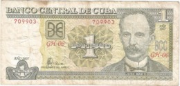 Cuba 1 Peso 2007 Pk 128 B Ref 612-2 - Cuba