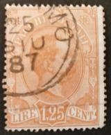 S230.-. ITALY - 1884-1886 - SC#: Q25 - USED - PARCEL POST, KING HUMBERTO I - 1878-00 Humbert I.