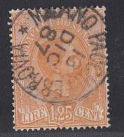Italy - 1884-86 - 1.25L Colis Postaux Pacchi Postali - Used - 1878-00 Humbert I.