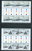Australian Antarctic Territory 2012 Expedition Anniversary II Set Of 5 Arrival & Exploration In Gutter Blocks Of 10 MNH - Unused Stamps