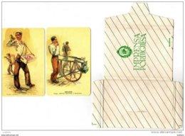 12 Costumes Portugueses Calendriers Collection Compléte Vendeurs Vendeuses Du Portugal Calendars Calendarios - Calendari