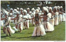 "Carte Postale Tahiti Le Groupe De Danseuses Et Danseurs ""Heiva"" Trés Beau Plan - Tahiti"