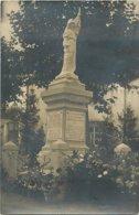 42 - LA PACAUDIERE - RARE CARTE PHOTO - LE MONUMENT AUX MORTS - - La Pacaudiere