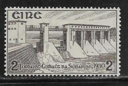 Ireland Scott # 83 Mint Hinged Hydroelectric Station, 1930 - Unused Stamps