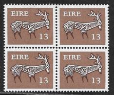 Ireland Scott # 467 MNH  Block Of 4 Stag, 1980 - Blocks & Sheetlets