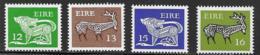 Ireland Scott # 466-9 MNH Dog, Stag, 1980 - 1949-... Republic Of Ireland