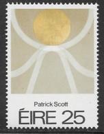 Ireland Scott # 488 MNH Scott Painting, 1980 - 1949-... Republic Of Ireland