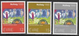 Ireland Scott # 489-91 MNH Christmas, 1980 - 1949-... Republic Of Ireland