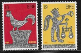 Ireland Scott # 496-7 MNH Europa, 1981 - 1949-... Republic Of Ireland