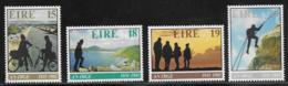 Ireland Scott # 498-501 MNH Youth Hostel Assn., 1981 - 1949-... Republic Of Ireland
