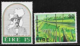Ireland Scott # 502-3 MNH Rossa, Railroad Track, 1981 - 1949-... Republic Of Ireland