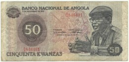 Angola - 50 Kwanzas - 14.08.1979 - Pick 114 - Série A/A - Camarada Dr. Agostinho Neto - Angola
