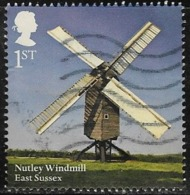 GB 2017 Windmills And Watermills 1st Nutley Windmill Good/fine Used [38/31391/ND] - 1952-.... (Elizabeth II)