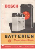 4680    REKLAME PROSPEKT   BOSCH - Trucks