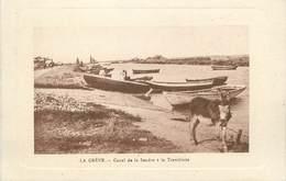 "/ CPA FRANCE 17 ""La Grève, Canal De La Seudre à La  Tremblade"" - La Tremblade"
