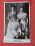 H R H Princess Royal & Princesses Alexandra & Maud Duff     Ref 3639 - Royal Families