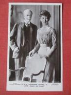 H R H Princess Royal & Late Duke Of Fife      Ref 3639 - Royal Families