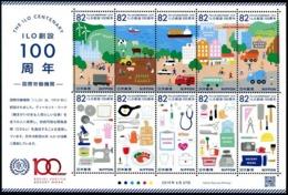 Japan 2019 The ILO Centenary/ International Labour Office Stamp Sheetlet MNH - Nuevos