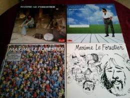 MAXIME LE FORESTIER  °  COLLECTION DE 13 VINYLES - Vollständige Sammlungen