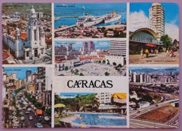 CARACAS - Multiview - Panteon Nacional, Puerto La Guaira, Hotel Sheraton, Autopista, Hotel Tamanaco - VENEZUELA Vg - Venezuela