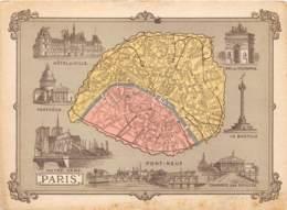 CHROMO - DUROYON & RAMETTE ( CHICOREE - CAMBRAI ) VILLE DE PARIS   FORMAT: 17,8cm Sur12,8cm - Duroyon & Ramette