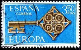 Espagne Poste Obl Yv:1523 Mi:1755 Ed:1868 Europa Cept Clés (Beau Cachet Rond) (Thème) - Europa-CEPT