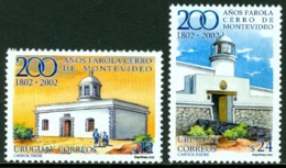URUGUAY 2002 LIGHTHOUSES** (MNH) - Uruguay