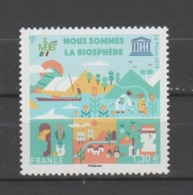 FRANCE / 2018 / Y&T SERVICE N° 172 ** : UNESCO (Biosphère) - Gomme D'origine Intacte - Nuevos