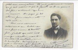 Carte-Photo - Homme à Idéntifier - 1910  (V133) - Fotografía