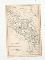 Cp, Carte Géographique ,17 , ILE D'OLERON ,ed. Arjac ,photo L. Gransart,voyagée - Maps