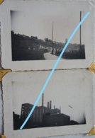 Photox4 AULNE Thuin Montigny Envurins Usine Fabrique ? Ecluse Canal Chemin De Campagne Hainaut - Luoghi