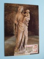 Abbaye De FONTENAY ( P.L. Lefevre Auxerre ) Anno 1977 Marmagne ( Zie/voir Foto's Voor Details ) - Cartes-Maximum