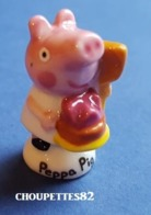 Fèves Fève 2018 Cochon Peppa Pig Boulanger Patissier*1* - Cartoni Animati