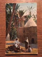 CPA, TUNISIE, AFRIQUE DU NORD,Dans L'Oasis,éd LL T, écrite En 1922 - Tunisia