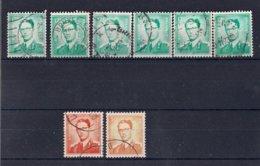 Belgique 1953-1972 Baudouin Lunettes - 1953-1972 Glasses