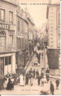 DECIZE (58) La Rue De La République En 1910 (Superbe Animation) - Decize