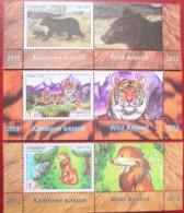 Tajikistan  2013    Fauna  2 V + Label   Perforated   MNH - Tajikistan